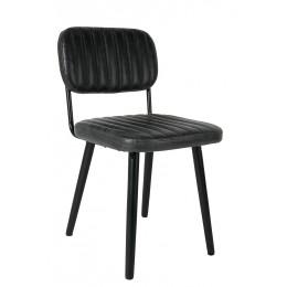 Židle JAKE Black ZUIVER