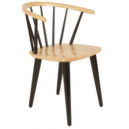 Židle Gee, černá