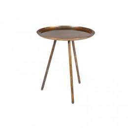Odkládací stolek Frost ZUIVER,copper