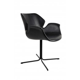 ARMCHAIR NIKKI ALL BLACK