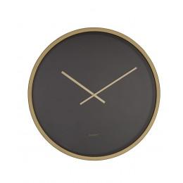 Hodiny Time Bandit black/brass