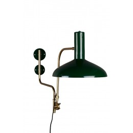 Nástěnná lampa Devi green