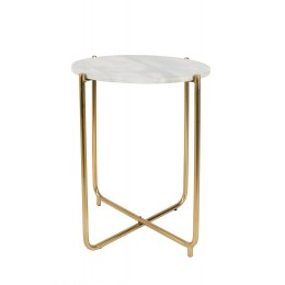 Odkládací stolek Timpa marble white