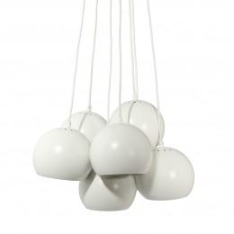 Ball multi brass, závěsné světlo bílé