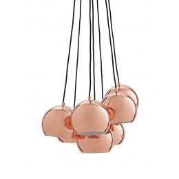 Ball multi brass, závěsné světlo copper