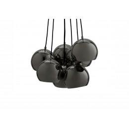 Ball multi brass, závěsné světlo černé/chrom