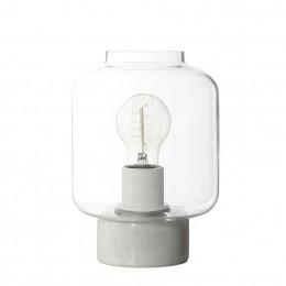Column stolní lampa, čiré sklo