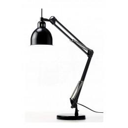 Job stolní lampa, černá/mat