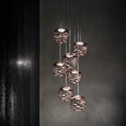 Závěsné svítidlo Kelly Cluster, 1 x 9W LED 2700 K stmívatelné