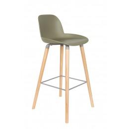 Barová židlička ALBERT KUIP, green