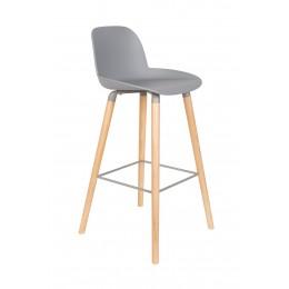 Barová židlička ALBERT KUIP 99 cm, light grey